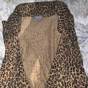 5 for $20 Sale 💕! Ann Taylor Cheetah Shirt